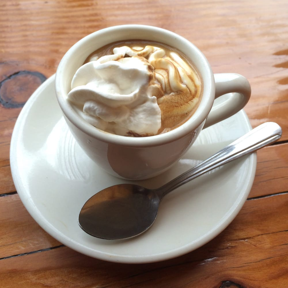 Caramel Espresso Con Panna: Java Grill